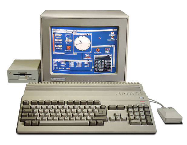 The Amiga was ahead of its time but could not dent the PC juggernaut.