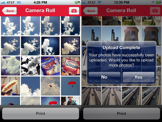 "Tap the pictures you like, and then tap ""Print."" It's pretty much that easy."
