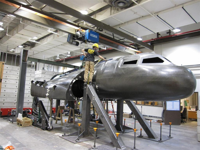 Dream Chaser carbon test article at Sierra Nevada