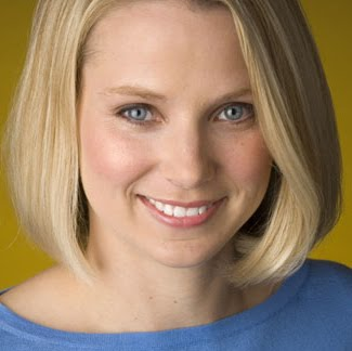 Marissa Mayer, newly anointed CEO of Yahoo