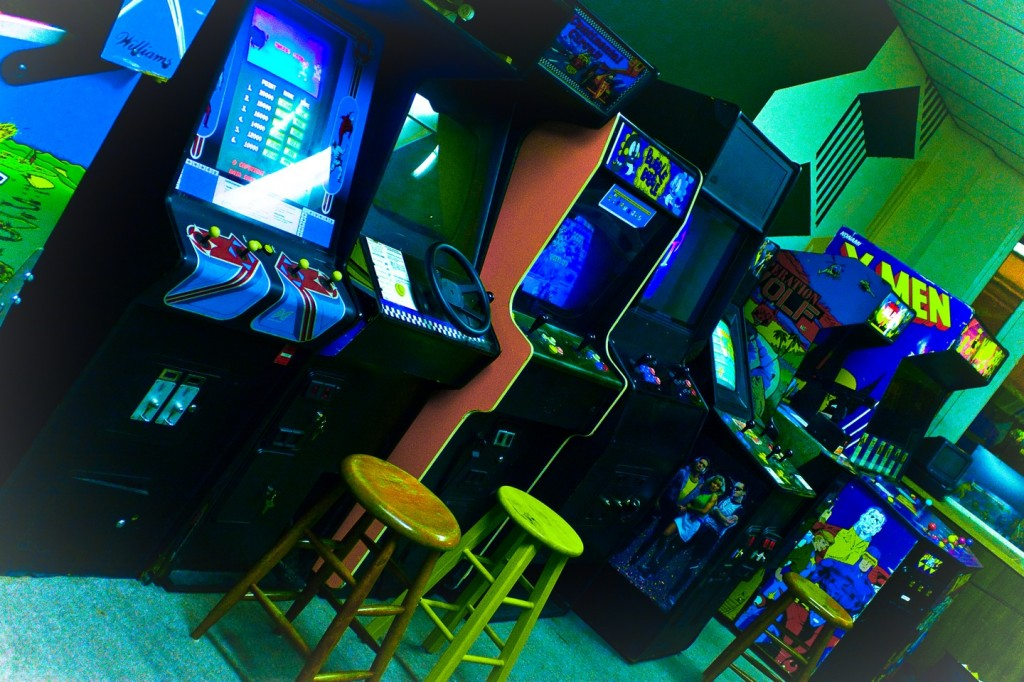The '80s themed ZAP Arcade is designed as a place where parents and children can commune together over the cabinets of yesteryear.