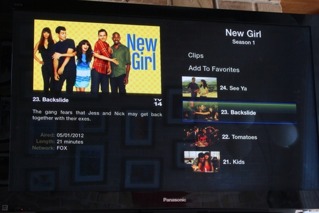 You can add a show to your Hulu favorites when you navigate to the season you want.