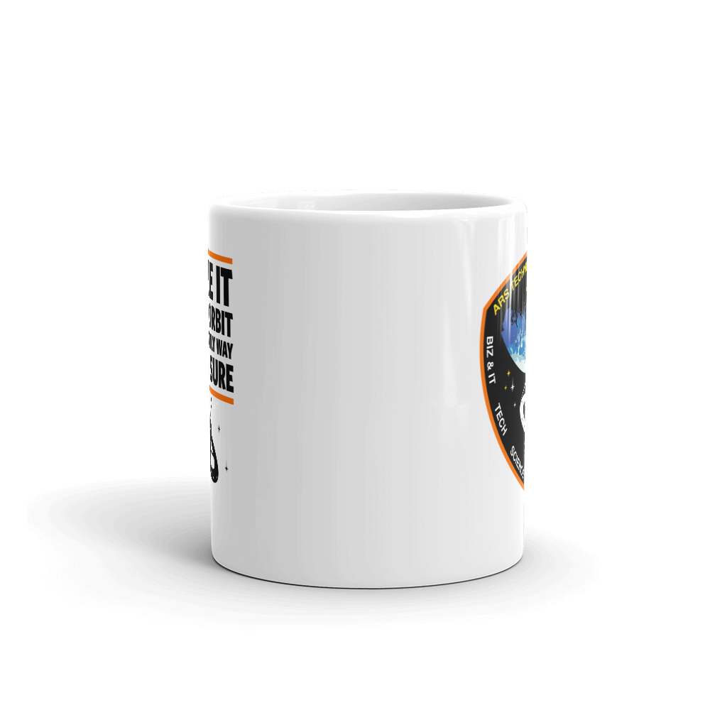 Orbiting HQ Mug 11oz Front View