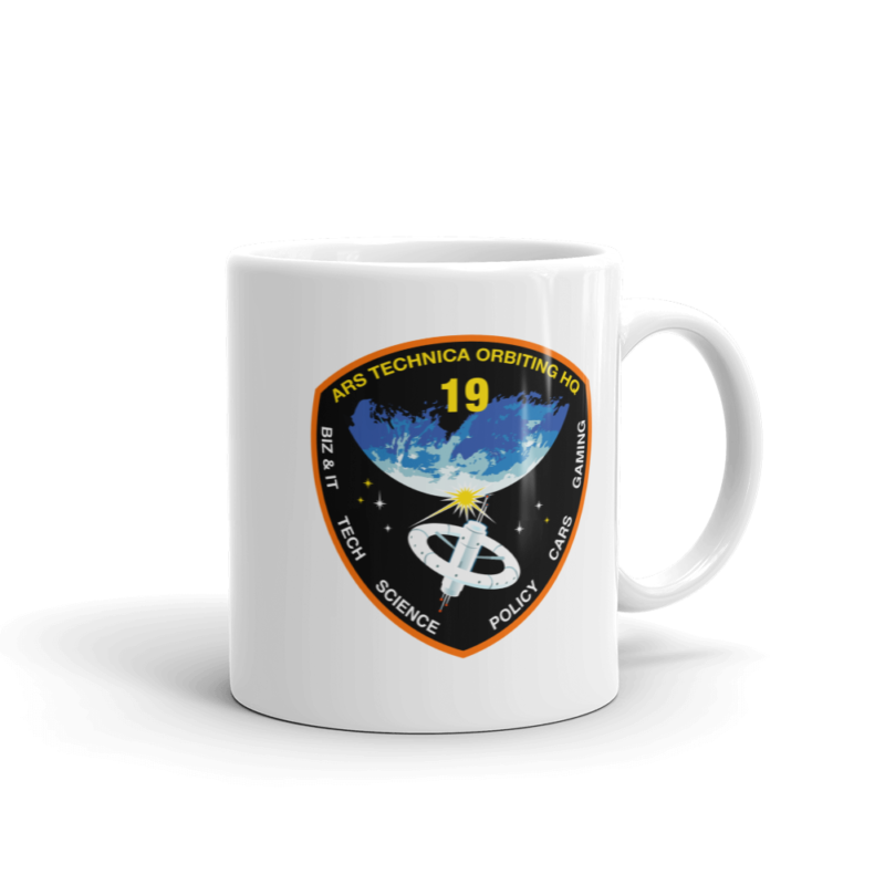 Orbiting HQ Mug 11oz Patch
