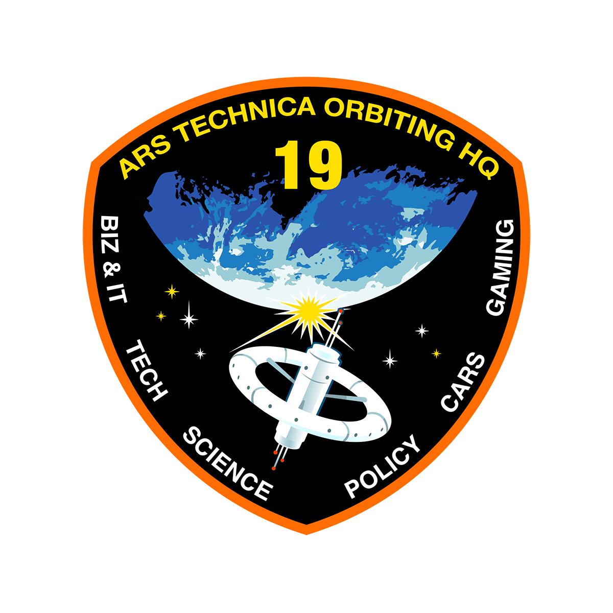 Ars Technica Mission Patch Artwork