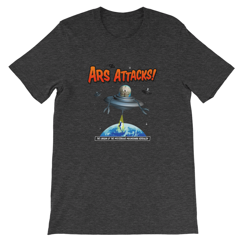 Ars Attacks! Shirt Dark Grey Heather