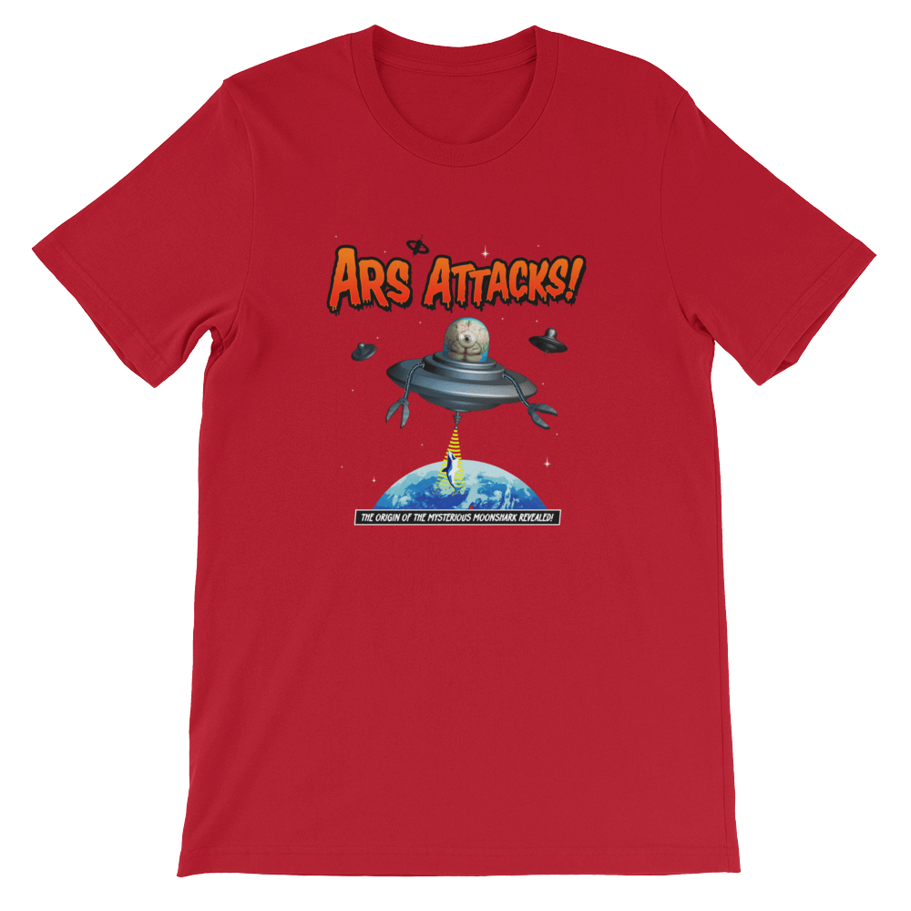Ars Attacks! Shirt Red