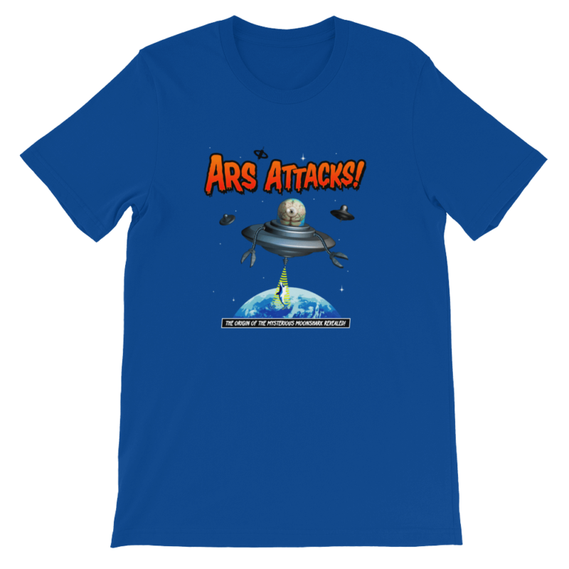 Ars Attacks! Shirt Royal