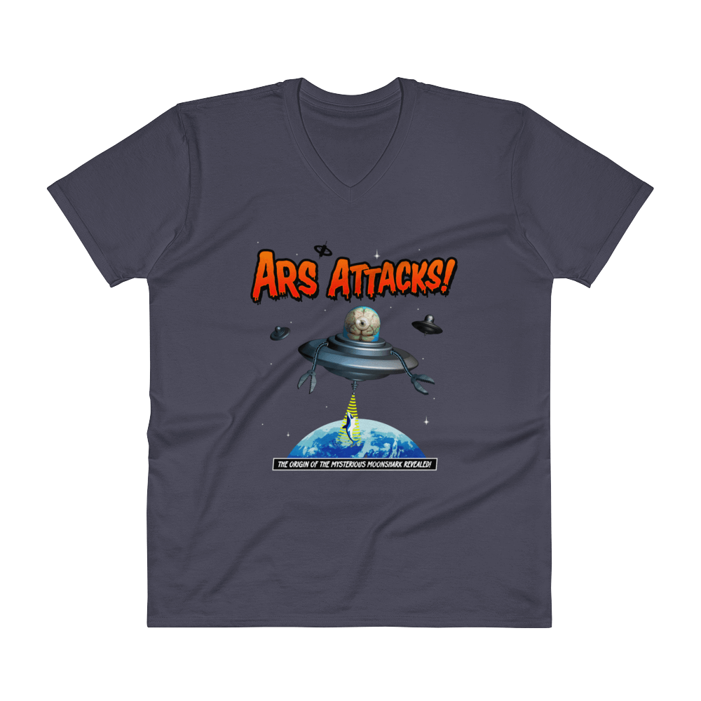 Ars Attacks! V-Neck Navy