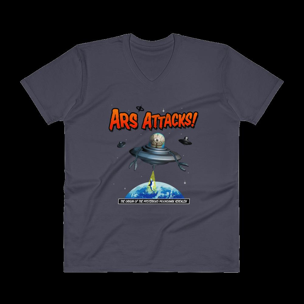 Ars Attacks! V-Neck Navy