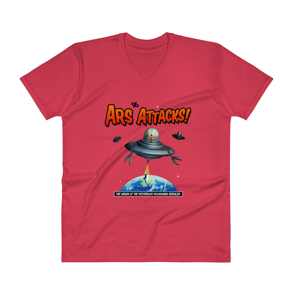 Ars Attacks! V-Neck Red