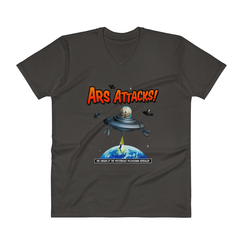 Ars Attacks! V-Neck Smoke