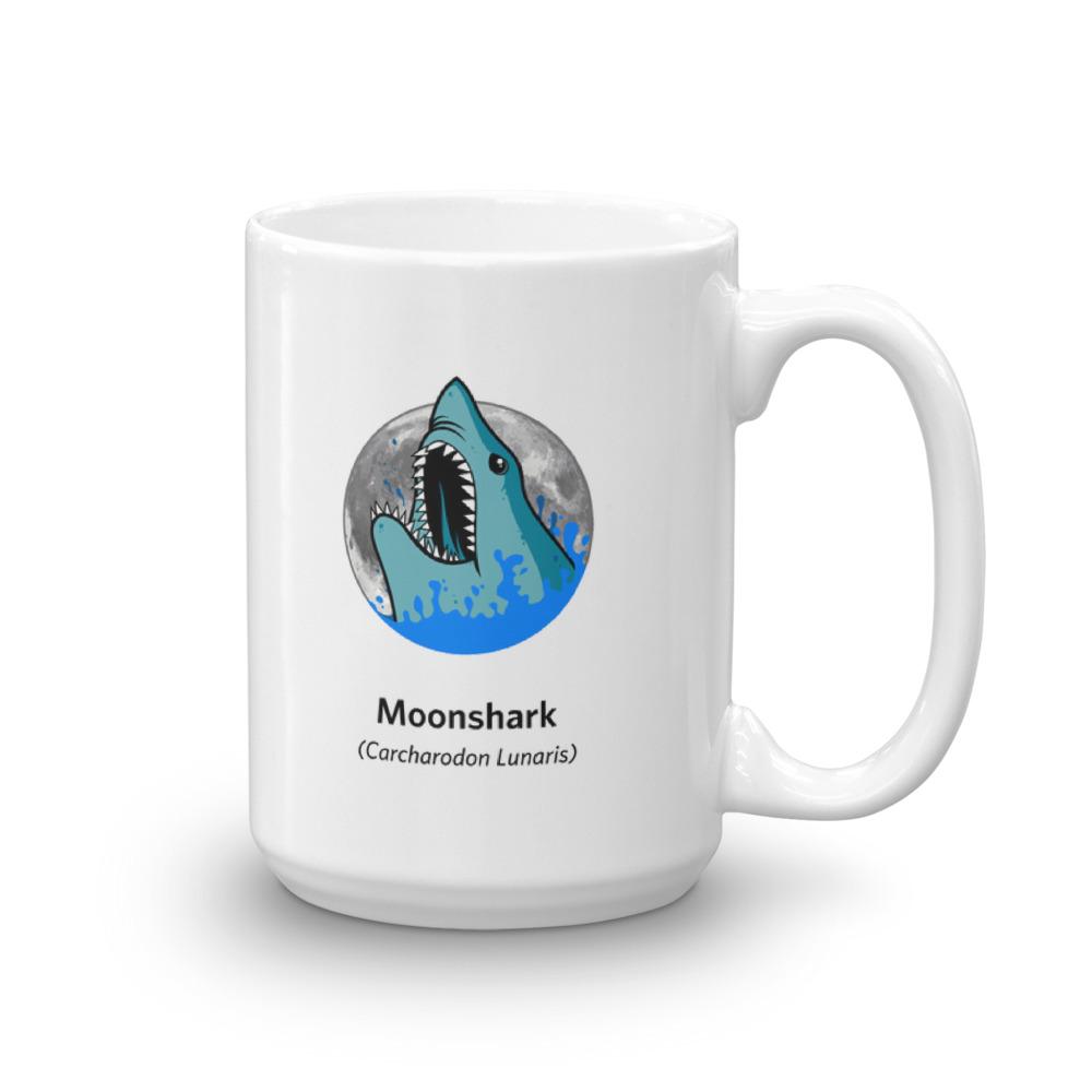 Moonshark Mug 15oz Moonshark Graphic