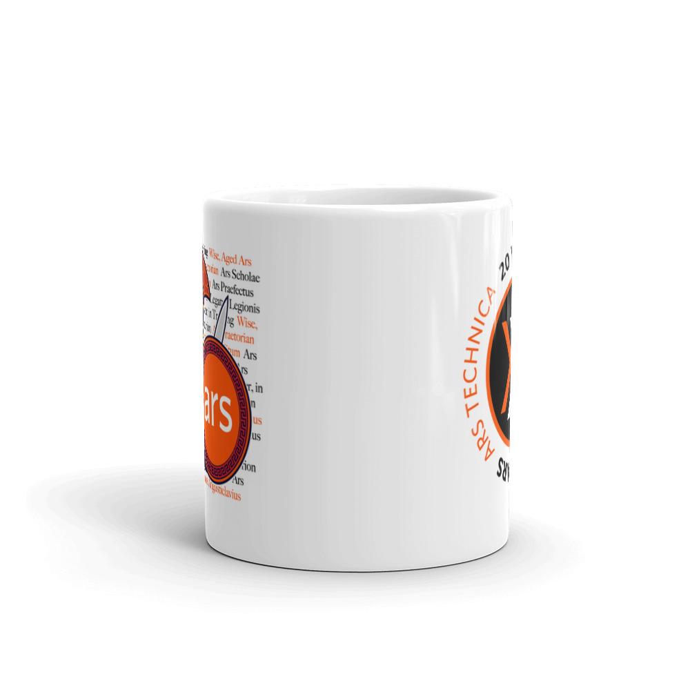 Ars 20th Anniversary Mug 11oz Front