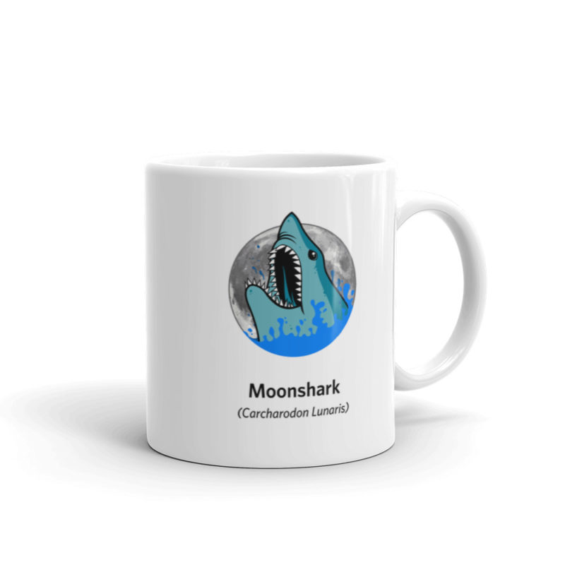 Moonshark Mug 11oz Moonshark Graphic