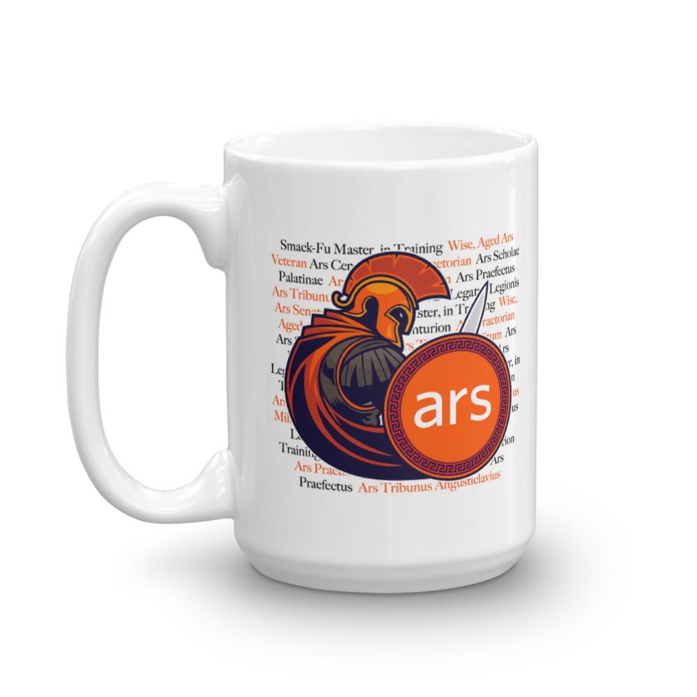 Ars 20th Anniversary Mug 15oz Crest