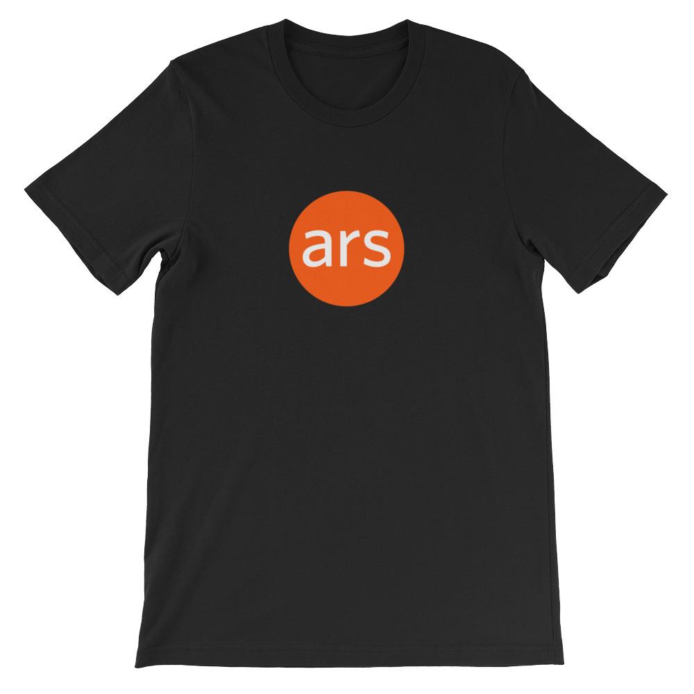 Short-Sleeve Unisex Ars Logo T-Shirt