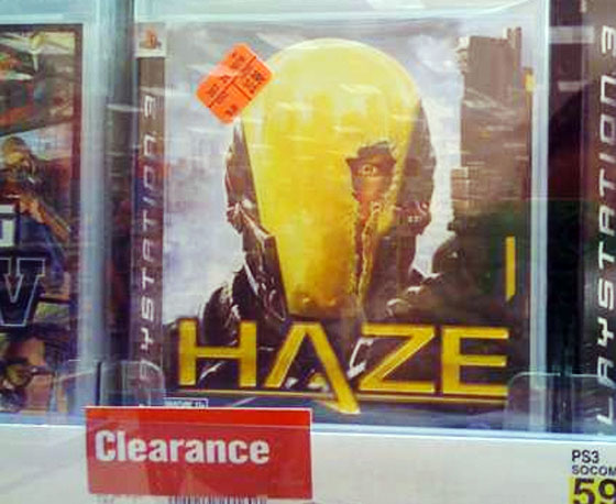Retailers dumping Haze, a sad end to a great developer