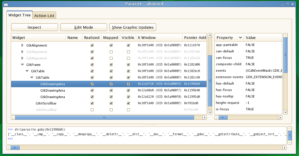 VMware developers release GUI debugging tool for GTK+