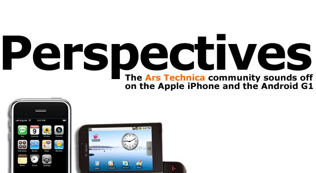Perspectives: Ars community compares iPhone and Android G1