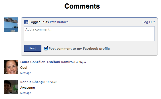 Facebook invades your blog, rest of Web with new Comment Box