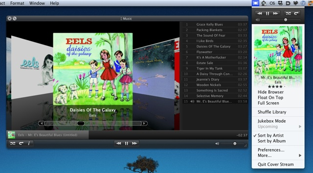 Cover Stream 2.5 brings new UI, more control to iTunes app