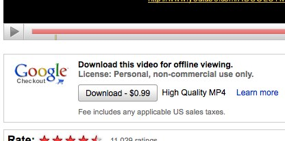 YouTube tries micropayments, more download options