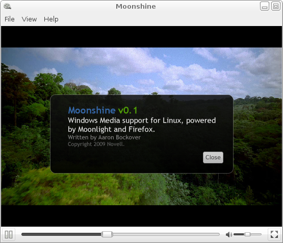 Moonshine: drinking fermented Windows Media content on Linux