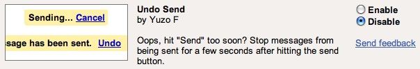 Gmail kinda saves us from ourselves with Undo Send feature