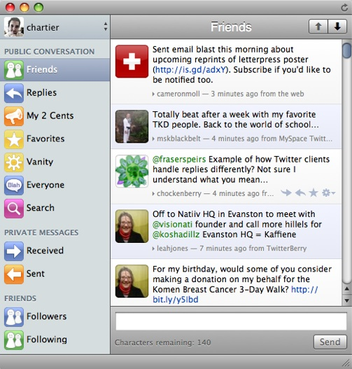Lounge brings a rich Twitter client to iPhone and Mac OS X