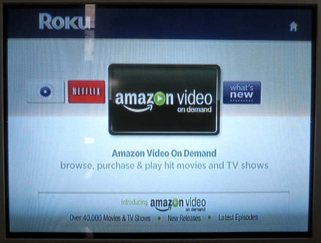 Amazon VoD now rocking Roku set-top video player