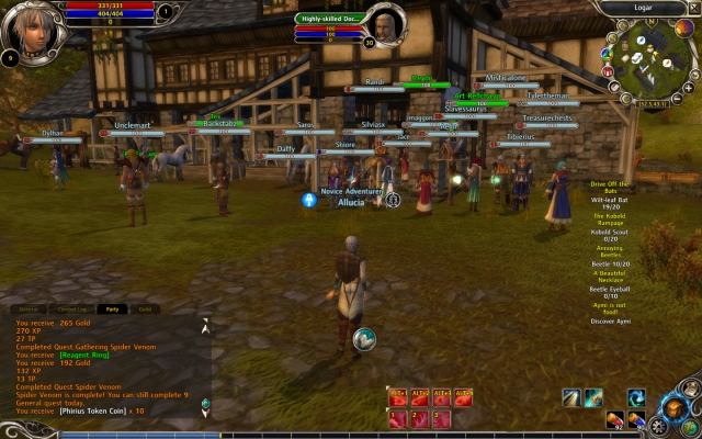 Free-to-play MMO Runes of Magic touts the best of WoW, FFXI