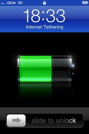 USB tethering with iPhone OS 3.0 apparently works—for now