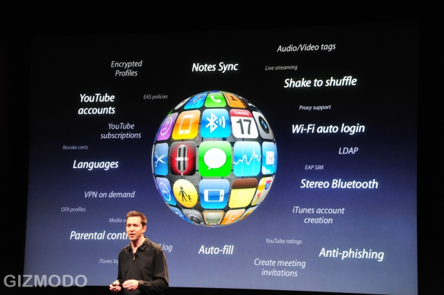 Apple SVP Scott Forstall discuss some of the more than 100 new features and over 1,000 new developer APIs coming in iPhone OS 3.0