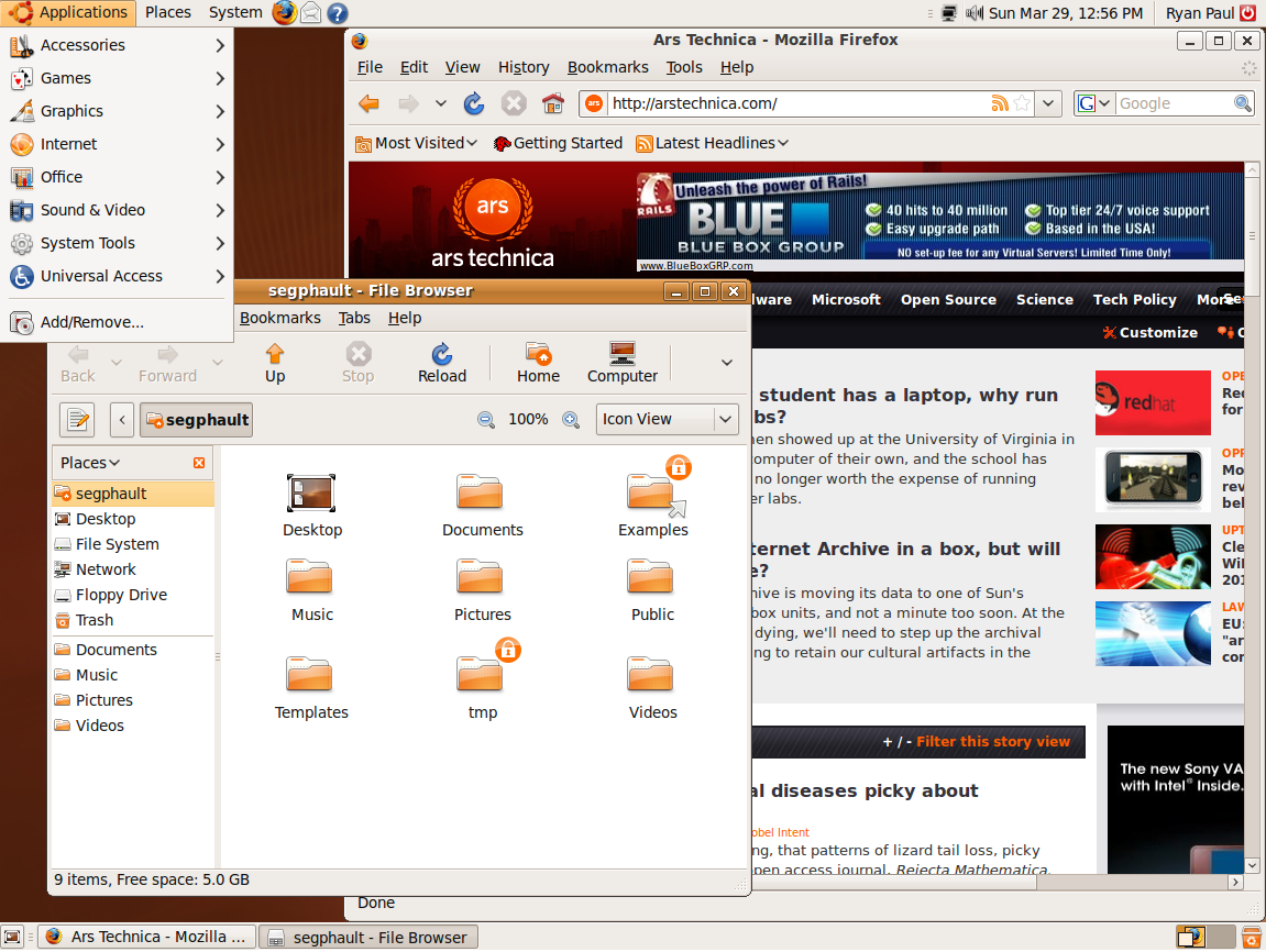 Jackalope sighting: first look at Ubuntu 9 04 beta | Ars
