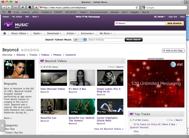 Yahoo Music morphs into social launchpad for artist content