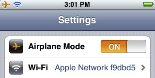 what is airplane mode on my iphone tip you can turn on an iphone s wifi while in airplane 7882