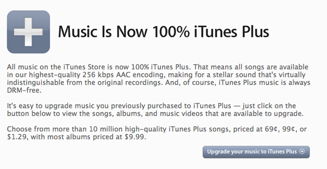 New $1.29 iTunes tracks provide an opening for competition