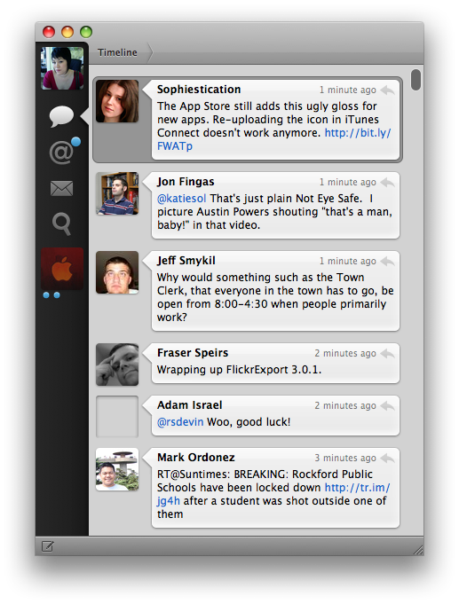 Hands on with Tweetie for Mac: still scrolls like butter (Update)