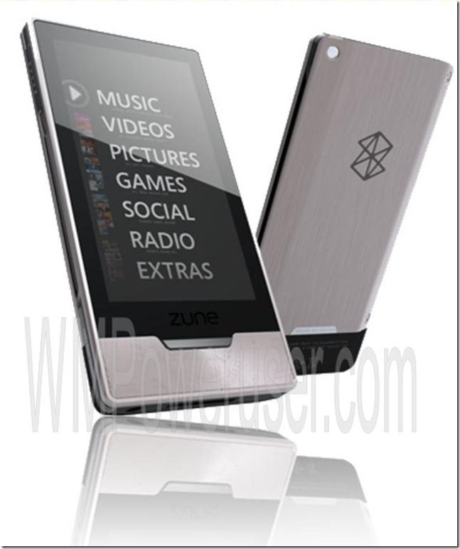 Latest Zune HD rumors: multitouch browser and Xbox games