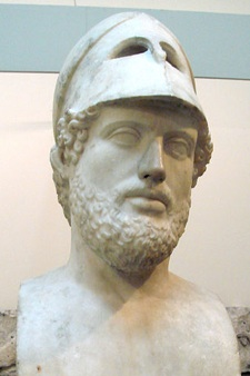 The real Pericles, champion of democracy