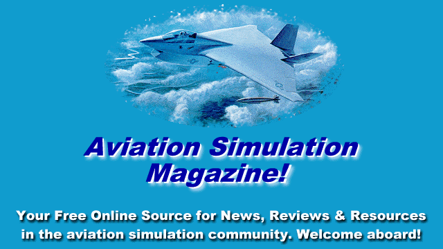 This is how visitors to Avsim, a site devoted to fans and users of flight simulators, were greeted in 1997.