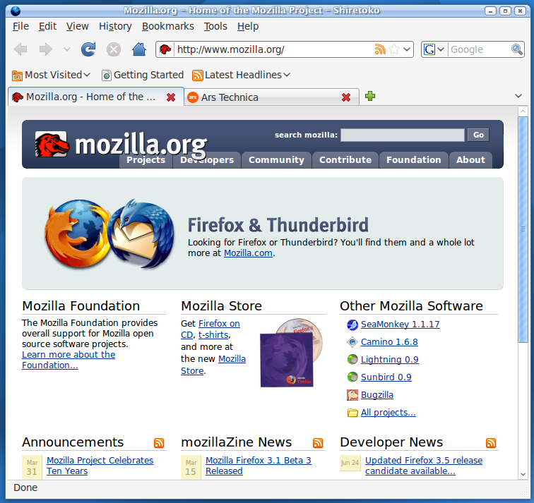 First look: Firefox 3.5 released, ready to