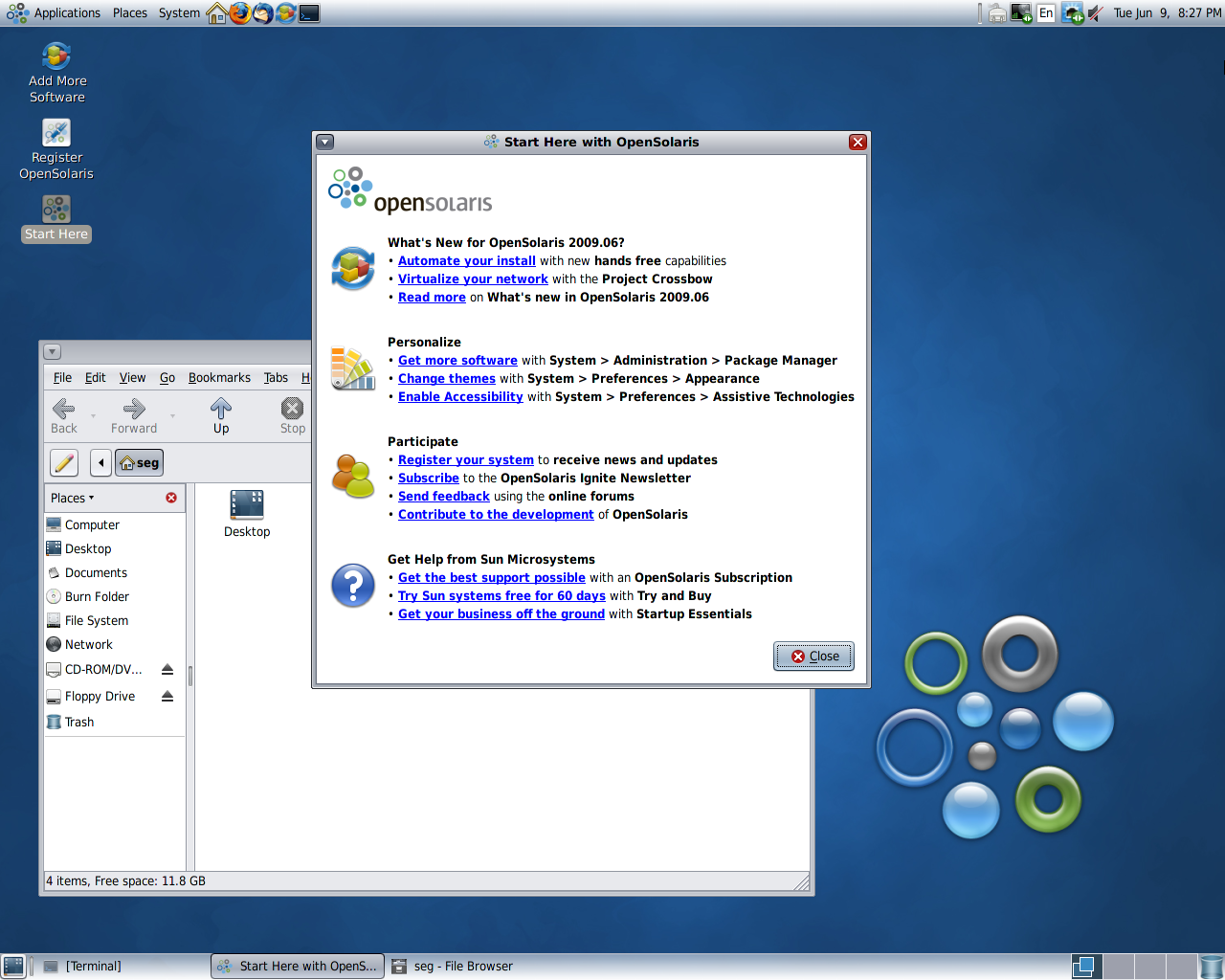 OpenSolaris 2009.06 released, new ARM port announced