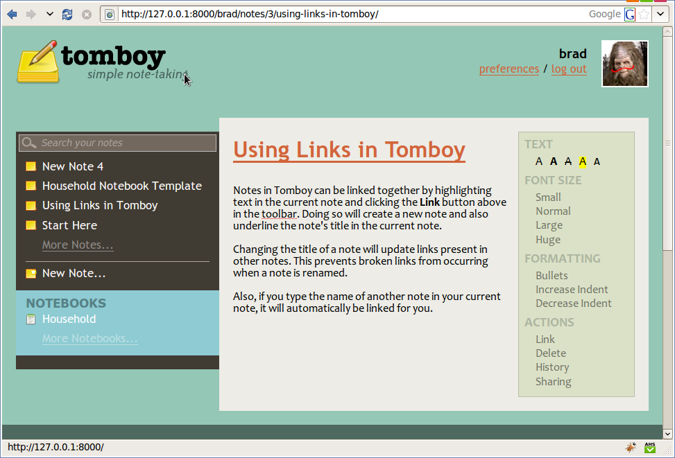 Snowy, the Tomboy Web service