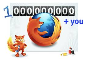 Over 1 billion served: Firefox passes download milestone