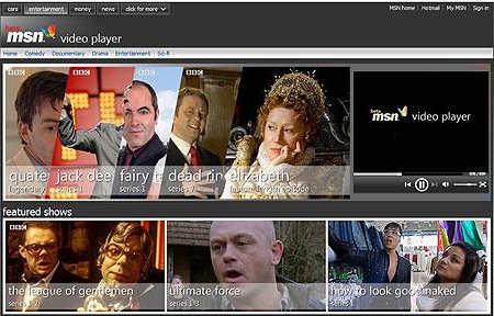 Microsoft gunning for Hulu in the UK with MSN Video Player