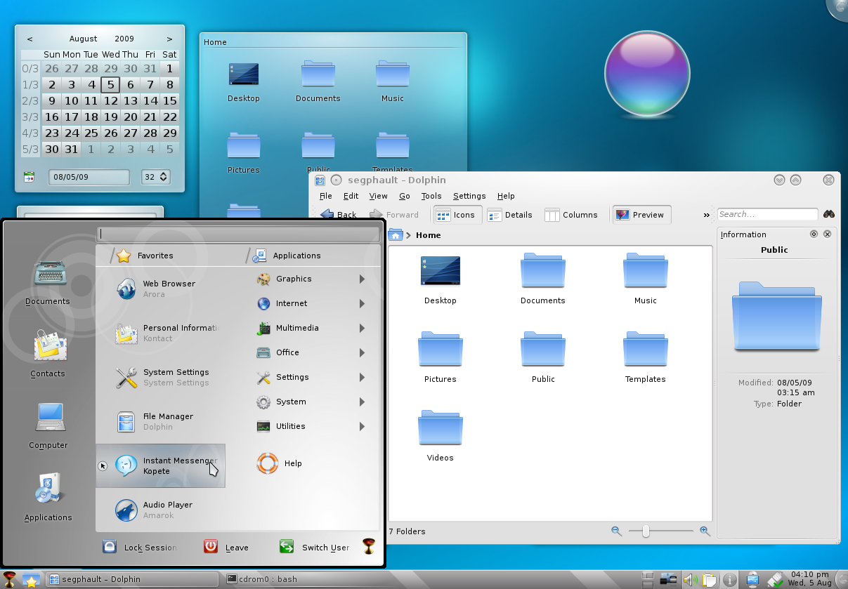 Hands-on: KDE 4.3 delivers a Social Desktop