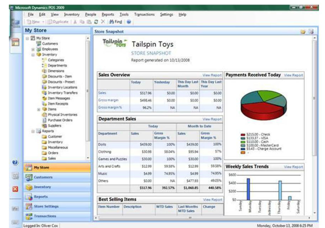 Microsoft Dynamics Pos 2009 Released Ars Technica