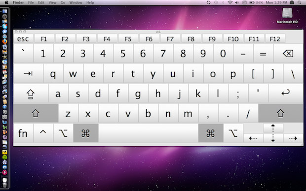 Snow Leopard's version of Keyboard Viewer can be resized to fill any screen, even a 30